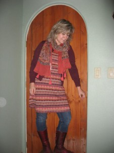 Free People Dress Lucky Brand Cardigan Michael Stars Scarf El Naturalista Boots