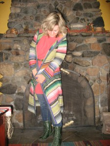 Free People Sweater Cut Loose Tunic Ground Hog Boots